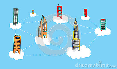 Building sky network