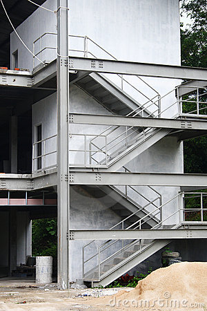 Building with staircase