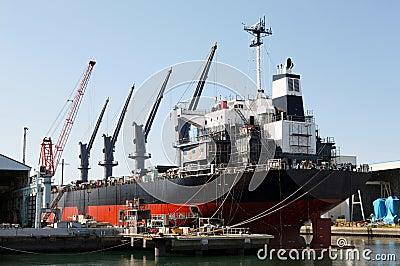 Building tanker