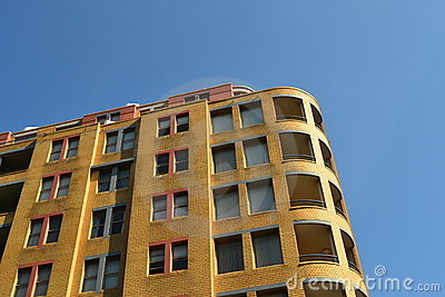 Building Under a Blue Sky