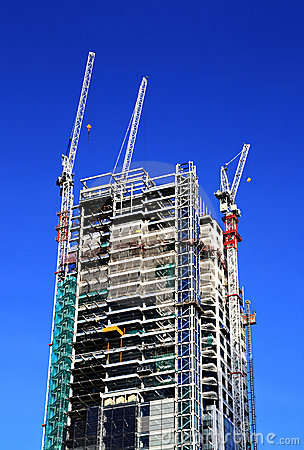 Free Building Under Construction Stock Photography - 12241272