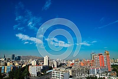 Building at Urumqi City