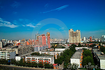 Building at Urumqi City