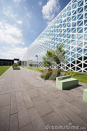 Building X in Windesheim Campus, Netherlands