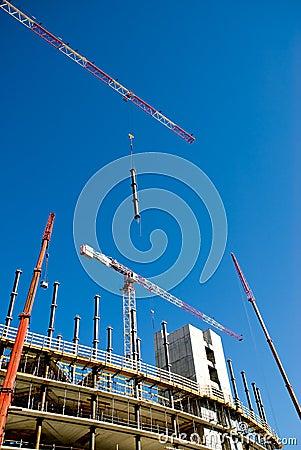 Free Building Yard Royalty Free Stock Photo - 5918395