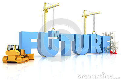 Building your future concept