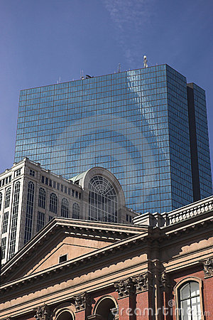 Buildings through the ages in Boston