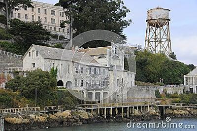 Buildings on Alcatraz Island