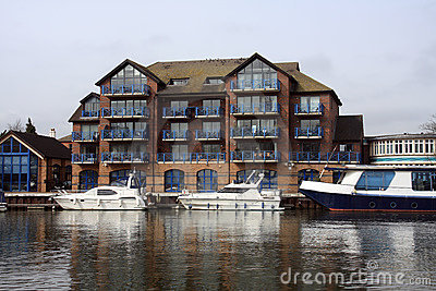 Buildings along the River Thames