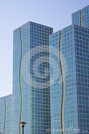 Buildings of Astana city