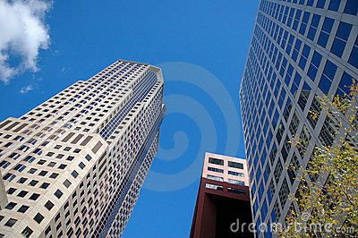 Buildings in a Business Distri