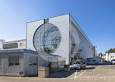 Buildings in cern Editorial Stock Image