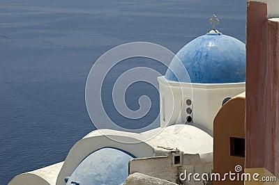 Buildings in Greek town