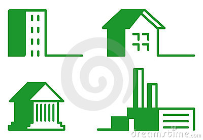 Buildings - Icon Set