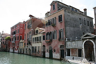 Buildings located in Venice