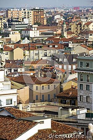 Buildings in Milan