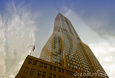 Buildings of New York City Editorial Stock Image