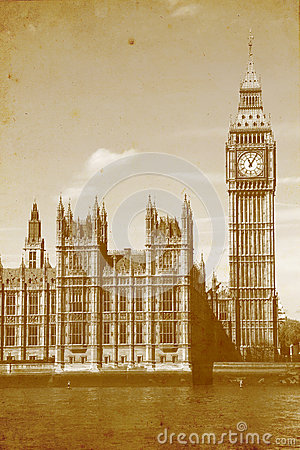 Buildings of Parliament with Big Ben