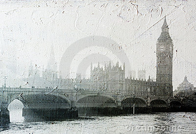 Buildings of Parliament  in London UK