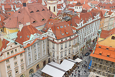 Buildings from Prague