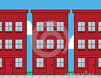 Buildings Red Brick