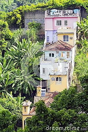 Buildings in Rio de Janeiro