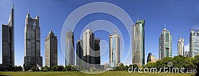 Buildings in Shanghai