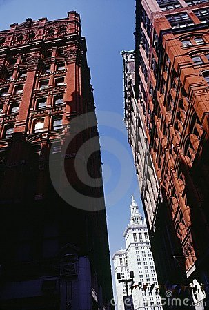 Buildings In Soho District, New York City Usa