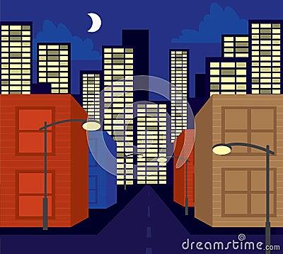 Buildings Street