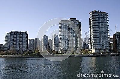 Buildings in Vancouver Canada