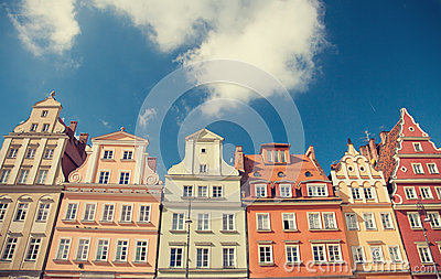 Buildings in Wroclaw