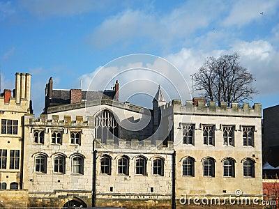 Buildings in York, England.
