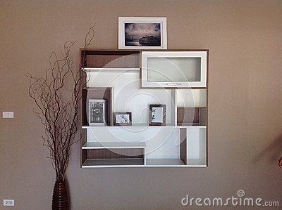 the image of the modern built in inhouse furniture built in furniture living room in thai style house built furniture living room