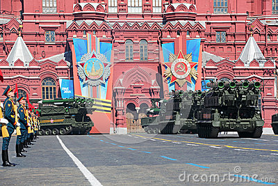 Buk missile system Editorial Photography