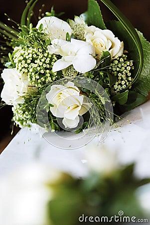 Bukettbröllopwhite