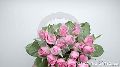Bukiet róże 1 zdjęcie wideo