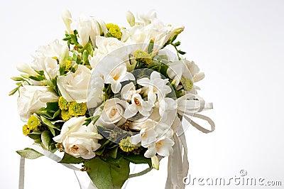 Bukieta ślubu biel