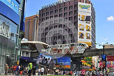 Bukit bintang , Kuala Lumpur, Malaysia Editorial Photography