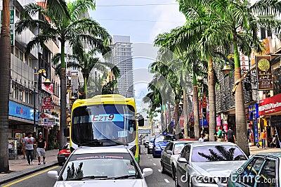 Bukit bintang , Kuala Lumpur, Malaysia Editorial Stock Photo