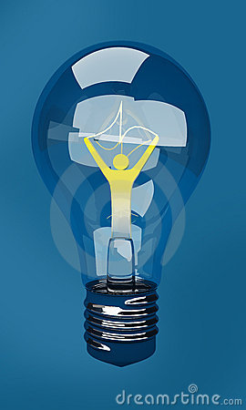 Bulb as character of idea