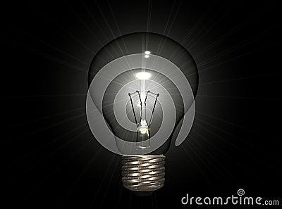 Bulb on Dark