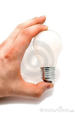 Free Bulb In Hand 1 Stock Images - 2121884