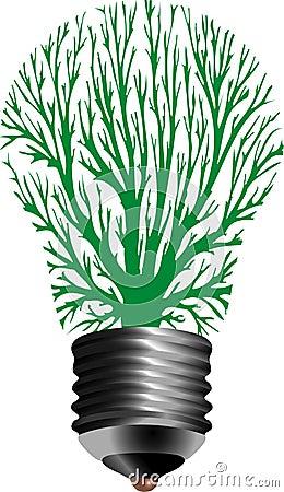 Bulb lamp tree