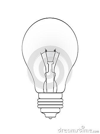 Bulb lineart