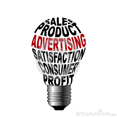 Bulb Of Sales Product Advertising Satisfaction Con Royalty Free Stock Photo Image 33950145