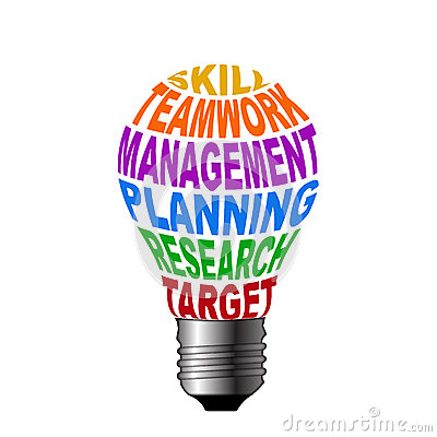 Bulb of skill teamwork management planning research target