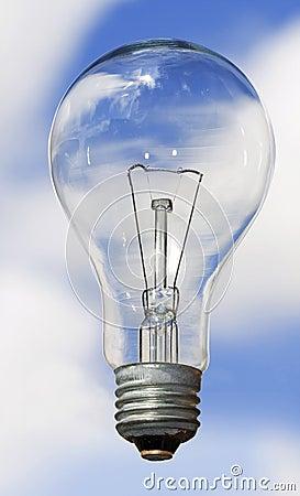 Bulb and sky