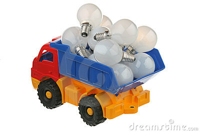 Bulbs in the truck