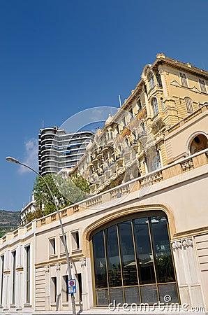 Bulding in Monaco