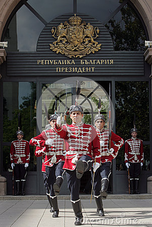 Bulgaria Guards of Honor Editorial Photography